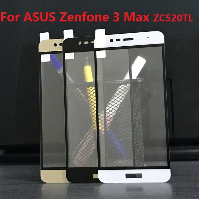 new style c6604 d4d6c US $1.99 |Tempered Glass Full Cover for ASUS Zenfone 3 Max ZC520TL ZE520KL  ZE552KL ZC553KL ZB501KL ZE554KL ZS551KL ZD552K Screen Protector-in Phone ...