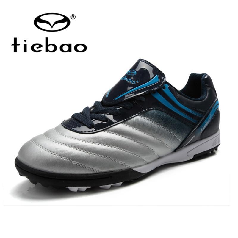 TIEBAO Professional Indoor Soccer Shoes Football Botas Futbol patos De Futbol Sport ShoesTobilleras Child Kids Football Shoes