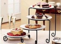 4 Tier Iron Cupcake Dessert Fruit Stand Cake Display Cake Tools For Party Cupcake Display Stand