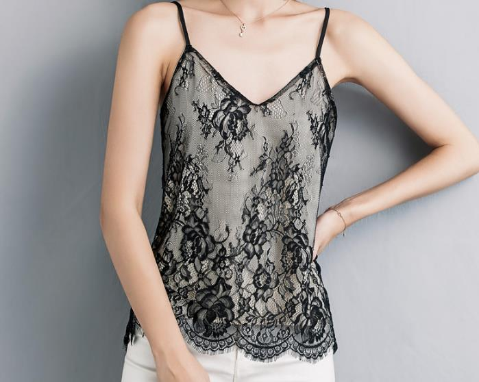 Clothing women camisole store for tops lace white