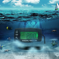 Digital Tachometer Stroke Engines Tach Hour Meter Parts Lightweight Gauge Replacement Battery Motorcycle Accessories Easy Use