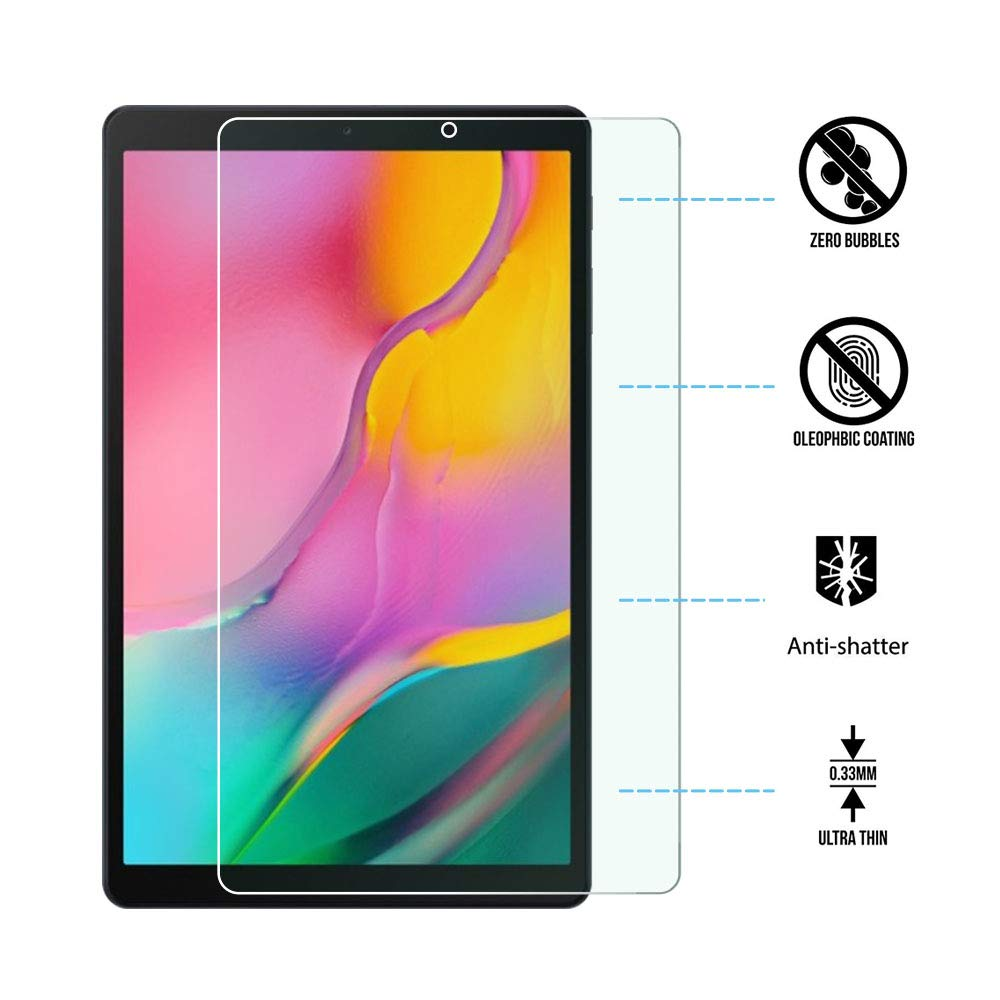 Tempered Glass For Samsung Galaxy Tab A 10.1 2019 T510 T515 A6 2016 T580 SM-T580 Tab S5e Tablet Protective Screen Protector Film