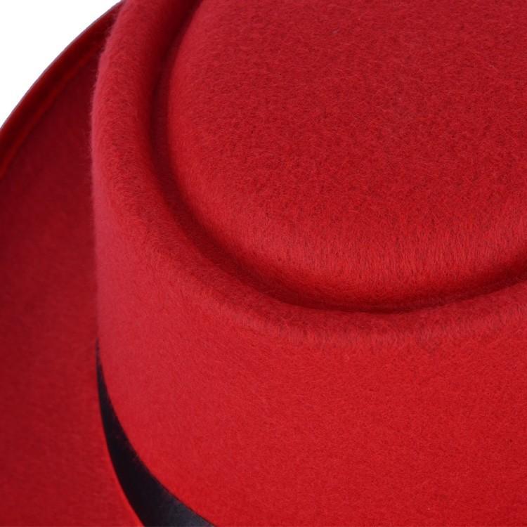 red fedoras cap (4)