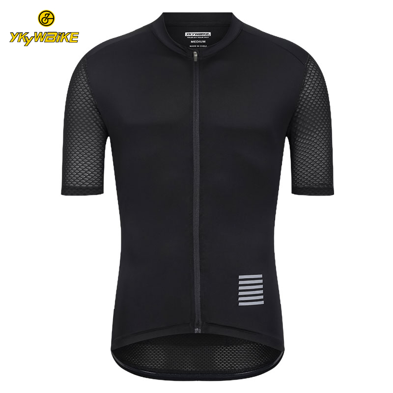 YKYWBIKE Men Cycling Jersey MTB Maillot Bike Shirt Downhill Jersey High Quality 2019 Pro Team Tricota Mountain Bicycle Clothing(China)