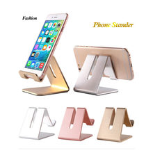 Mobile Phone Holder phone Stander for iphone X 7 8 Xiaomi Samsung s 10 9 Huawei ipad Universal Metal Desk Table Phone Stand New(China)