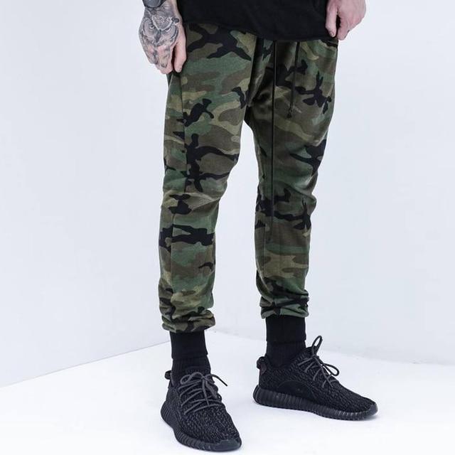 Thintenda 2017 Fashion High Quality Mens Jogger Pants Camo Hip Hop Trousers  Swag Sweatpants Brand Clothing Streetwear Pants Men 71477446bf42