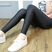 1pc 2019 New Women font b Slim b font Plus Size Fluorescent Color Leggings Elastic Leggings