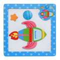 15cmX15cmX0.5cm Wooden Magnetic Puzzle Educational Developmental Baby Kids Training Toy animal Toys & Games Puzzle