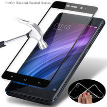 MPCQC 2.5D 9H HD tempered full cowl tempered glass For Xiaomi Redmi Be aware four 4x three Redmi four professional 3s 4a display screen protector glass Movie
