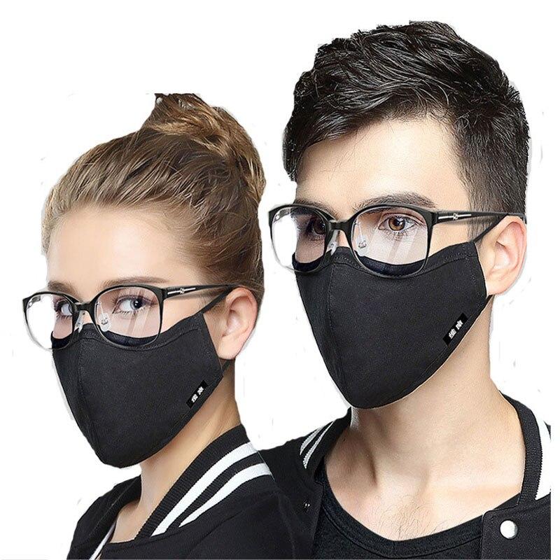 n95 maschera nera