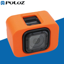 Go Professional Equipment Browsing Float Backdoor Floaty Mount Housing Cowl flutuante Case for GoPro HERO5 Session / four Session