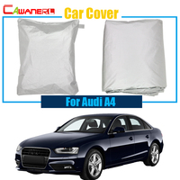 Cawanerl For Audi A4 Car Cover Rain Sun Snow Resistant Cover Anti UV Sun Shade Free Shipping !