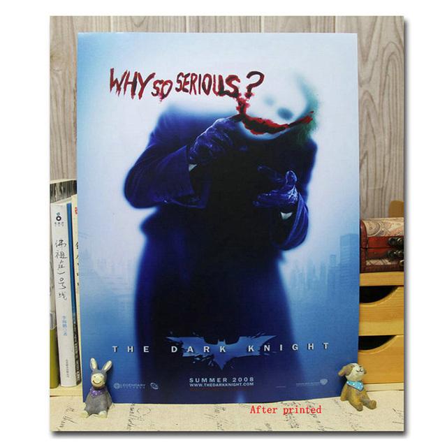 Joker Poster- Batman Arkham City Arkham Origin Game Art Silk 12×18 20×30 24×36 inch