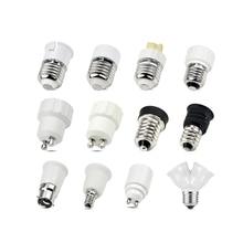 1 шт. E27 E14 GU10 G9 E12 B22 база взаимного преобразования держатели ламп конвертер гнездо адаптера гнезд ламп светильник база для светодиодный лампы