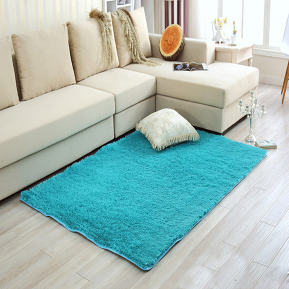 Soft Carpets Shaggy Area Rug Slip Resistant Door Floor Carpet Mat For Home Parlor Bedroom Living Room Modern Long Plush In From Garden On