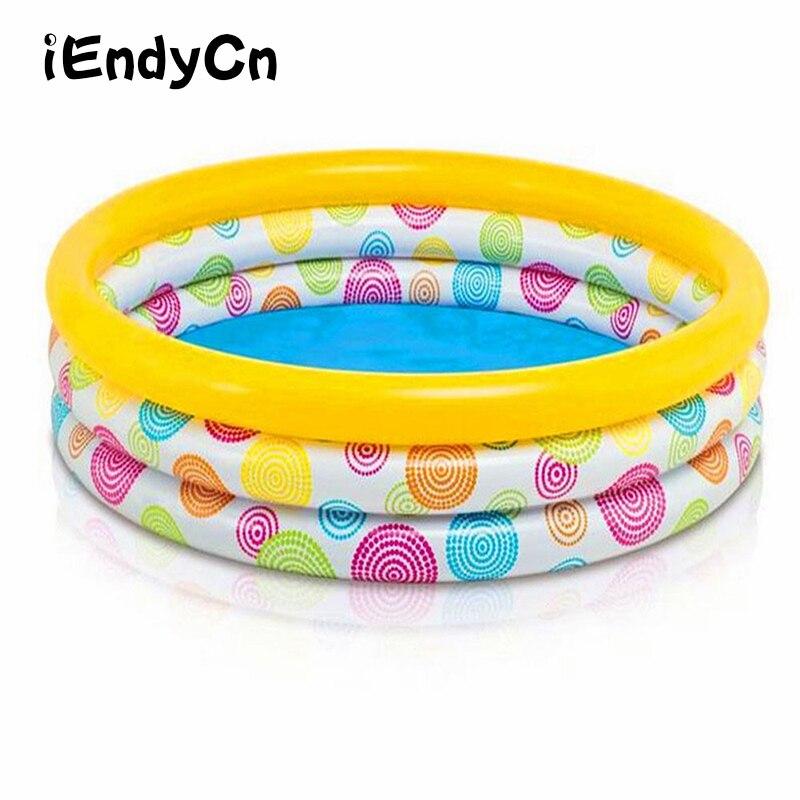 IEndyCn Circulaire piscine gonflable Piscine Familiale Enfants Float Aide Enfants Mini-aire De jeux Piscine LMY919YD