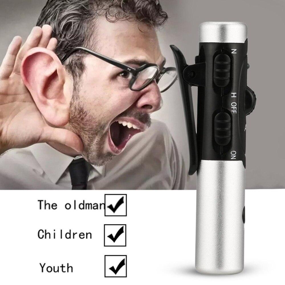 A-60 Rechargeable Aide Auditive Réglable de Tonalité Dans L'oreille Son Amplificateur de Voix Oreille Soins Kit Prothèses Auditives Pour Les Sourds Âgés personnes
