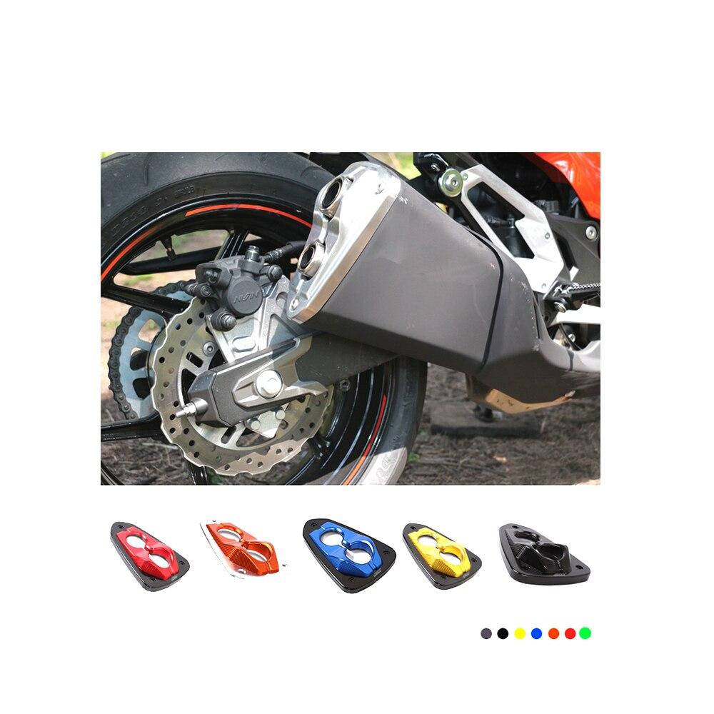 Мотоцикл с ЧПУ алюминиевая декоративная Крышка глушитель советы конец силы Крышка протектор для Кавасаки z800 ZR800 2013-2016