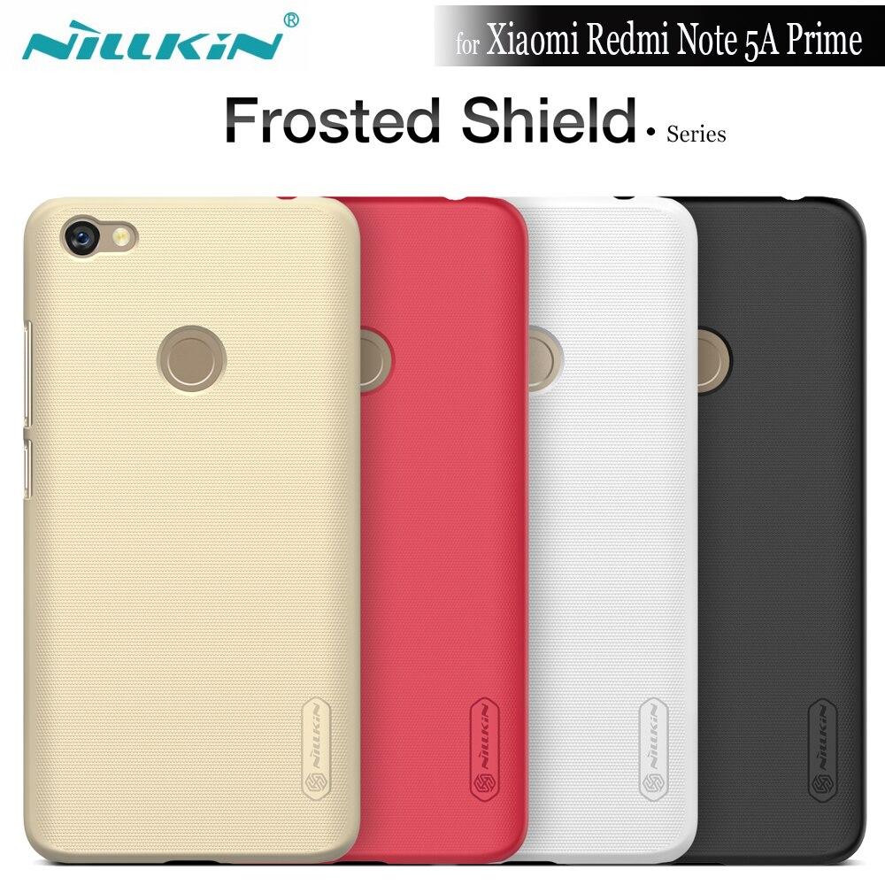 Nilkin pour Xiaomi Redmi Note 5A Premier Cas Nillkin Givré Bouclier mat Phone Housse Pour Redmi Note 5A Pro Premier Cadeau Film