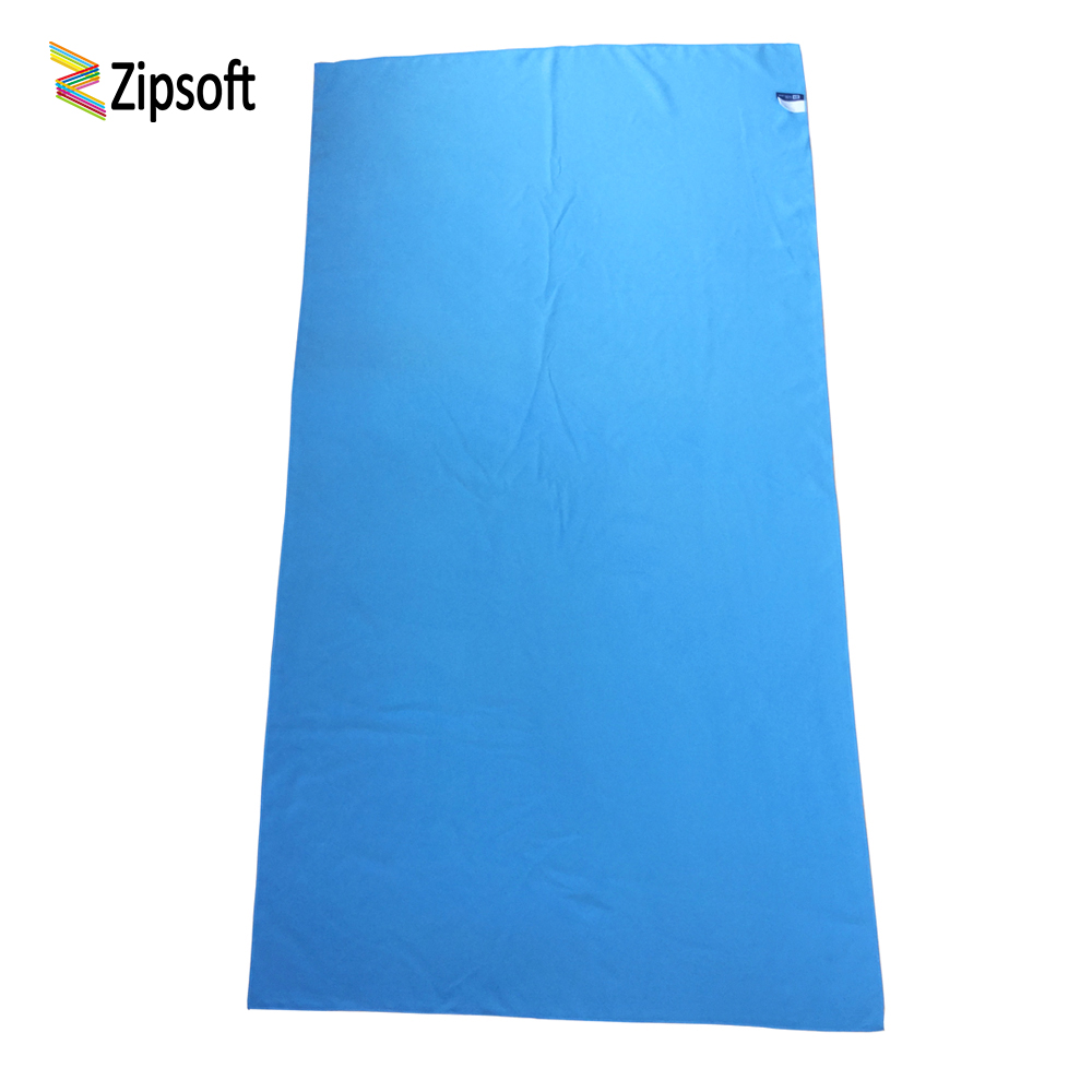Zipsoft Beach towel Microfiber Travel Fabric Quick Drying outdoors Sukan Kolam Camping Bath Yoga Mat Blanket Gym Adults 2019