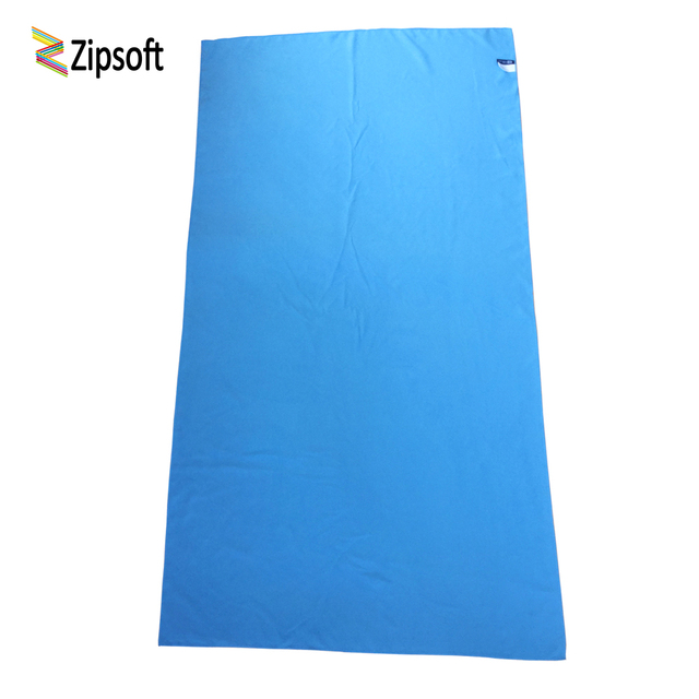 Zipsoft Beach towel Microfiber Travel Fabric Quick Drying outdoors Sports Swimming Camping Bath Yoga Mat Blanket Gym Adults 2019