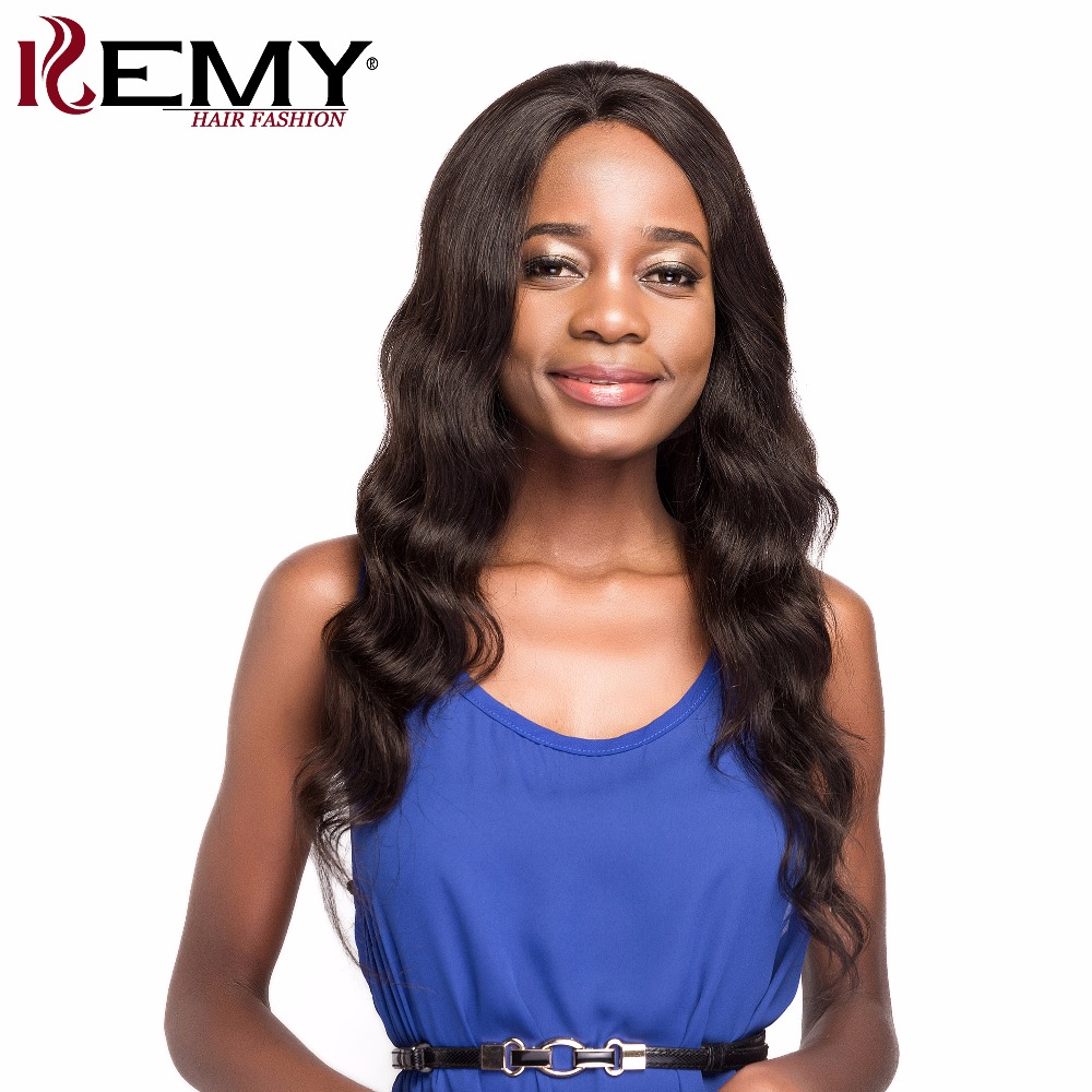 KEMY HAIR FASHION Loose Deep Brazilian Remy Lace Front Human Hair Wigs 24 176g Natural c ...