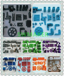 SWMAKER Prusa i3 Rework FDM Reprap Prusa I3 rework plastikowe drukowane zestaw części/zestaw M5/M8 ołów pręt wersja czarny biały złoty w Części i akcesoria do drukarek 3D od Komputer i biuro na