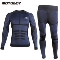 Motoboy motorccyle Moto Bicycle Underwear long sleeve summer sweat dry Long Tops & Pants