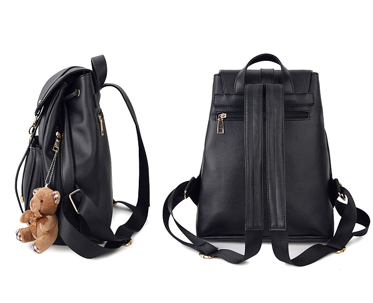 07881e4b0a Leather Women's Backpack Luxury Brands Natural Real Cow Leather Backpacks  Cowhide Woman Backpack Tote Bags Mochila-in Backpacks from Luggage & Bags  on ...