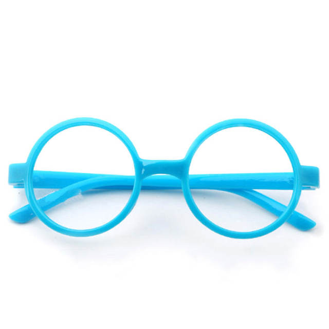Online Shop Round Cute Glasses Kids Frames Wholesale New Girl No ...