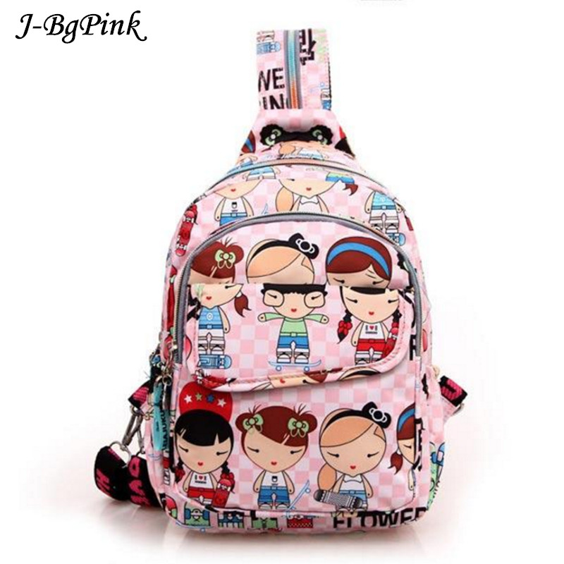 Harajuku Brand Lovely Cat Canvas Backpacks Women Shoulder Bags School Teenage Girls Travel Laptop Bagpack Mochila High Quality