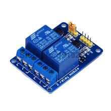 2PCS 2 Channel 5V Relay Module Shield for Arduino ARM PIC AVR DSP Electronic 10A