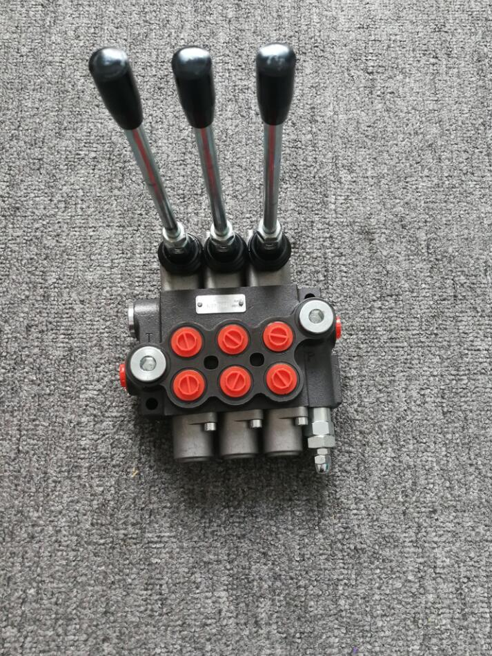 Гидравлический клапан с реверсивной циркуляцией, 3 катушки