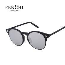 FENCHI TR90 metal women diamant sunglasses plane lens high quality hot rays glasses driving pilot mirror UV400