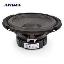 AIYIMA 6,5 дюймов бас аудио колонки 4 8 Ом 40 Вт Профессиональный НЧ-динамик Высокая чувствительность мультимедиа громкоговоритель DIY домашний кинотеатр