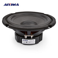 AIYIMA 6.5 Inch Bass Audio Speakers 4 8 Ohm 40 W Professional Woofer High Sensitivity Multimedia Loudspeaker DIY Home Theater