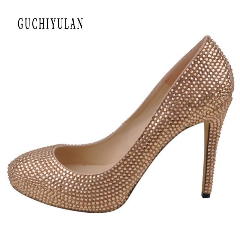 2019 New fashion woman shoes Leather rhinestone party wedding shoes big size 35-42 sexy pointed toe high heels pumps women shoes2019 New fashion woman shoes Leather rhinestone party wedding shoes big size 35-42 sexy pointed toe high heels pumps women shoes