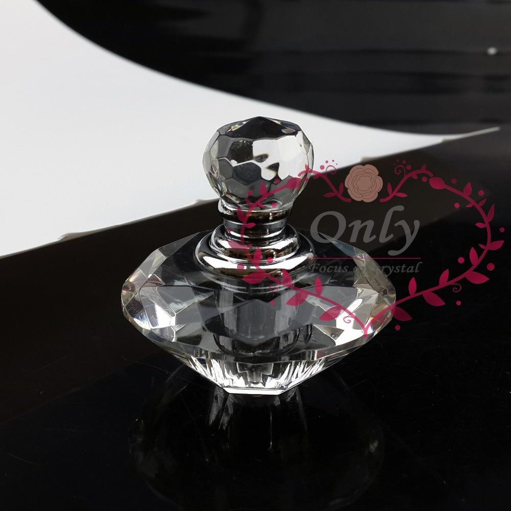 Harga grosir massal Kristal Kaca Berlian Bentuk Botol Parfum Minyak - Dekorasi rumah - Foto 3