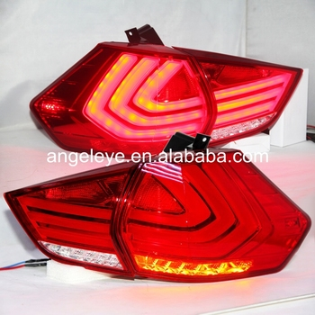 New Style 2014-2015 Year For Nissan X-Trail LED Taillight LED Rear Lamp Red color WH