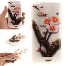 For Huawei Y3 II Case Soft Silicone TPU Phone Case Cover Luxury Cartoon Back Cover Capinha For Coque Huawei Y3 2