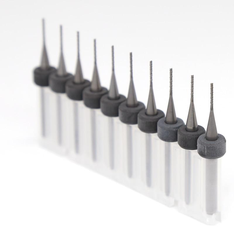 Strumenti di router di taglio PCB PCB 10pcsCNC 0,8 mm Miniatura - Macchine utensili e accessori - Fotografia 5