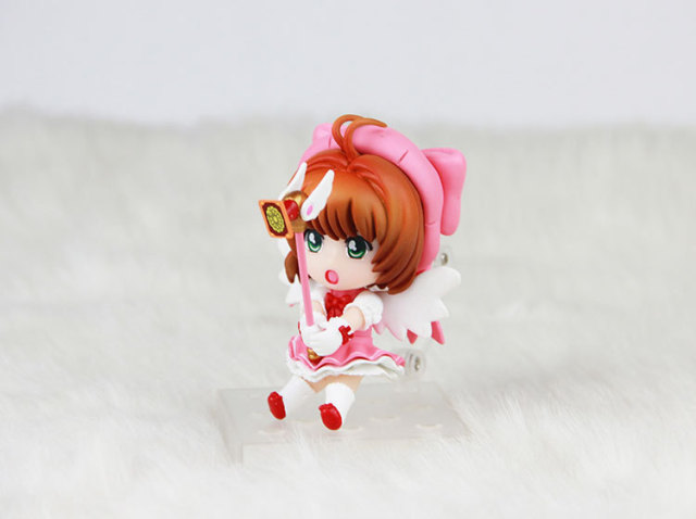4pcs/set Cardcaptor Sakura Kinomoto Sakura Tomoyo Action Figures PVC brinquedos Collection Figures toys for christmas gift