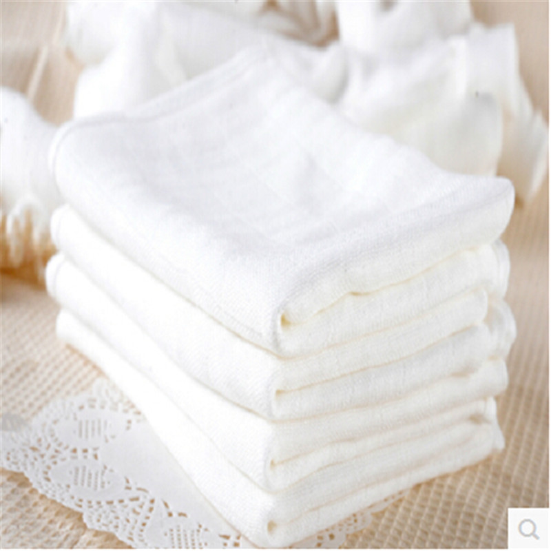10 pcs/pack baby bamboo fiber gauze nappy white newborn baby diapers cloth with soft 70*50cm [mumsbest] baby cloth diapers nappy new pack sale 6pcs diaper 6pcs bamboo charocal insert 1pc wet nappy bag baby care pack