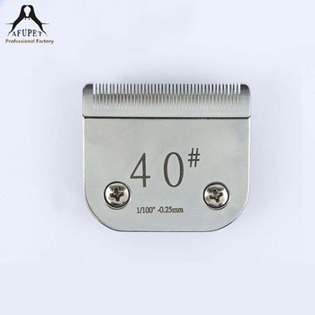 #40 MOQ 1 piece pet stainless steel blades for A5 clippers