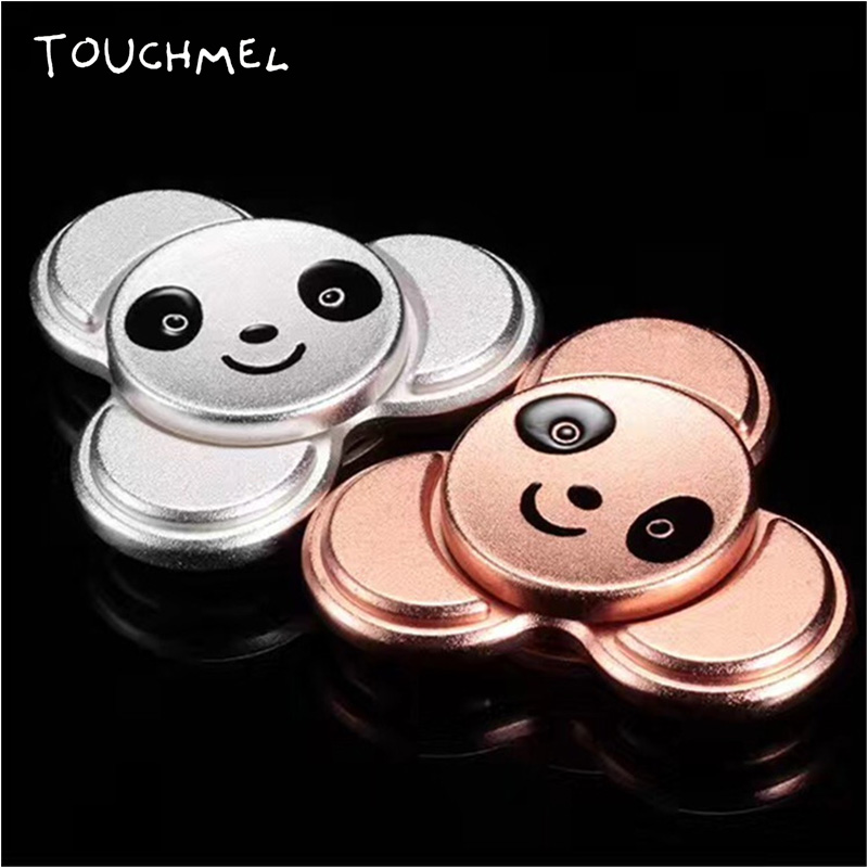 TOUCHMEL Panda Spinner Fidget Toy Hand Spinner Metal Stress relief 6 mins