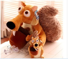 big lovely squirrel plush doll simulation squirrel toy dolls birthday gift about 55cm