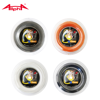 Alpha Revenge Polyester Tennis String 1.25mm Durable 200m Reel Tennis Racket String Great Power Soft Feeling String S2