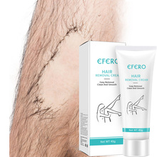 Painless Hair Removal Cream Natural Remove Depilatory Unisex Smooth Skin Body Underarm Legs EFERO
