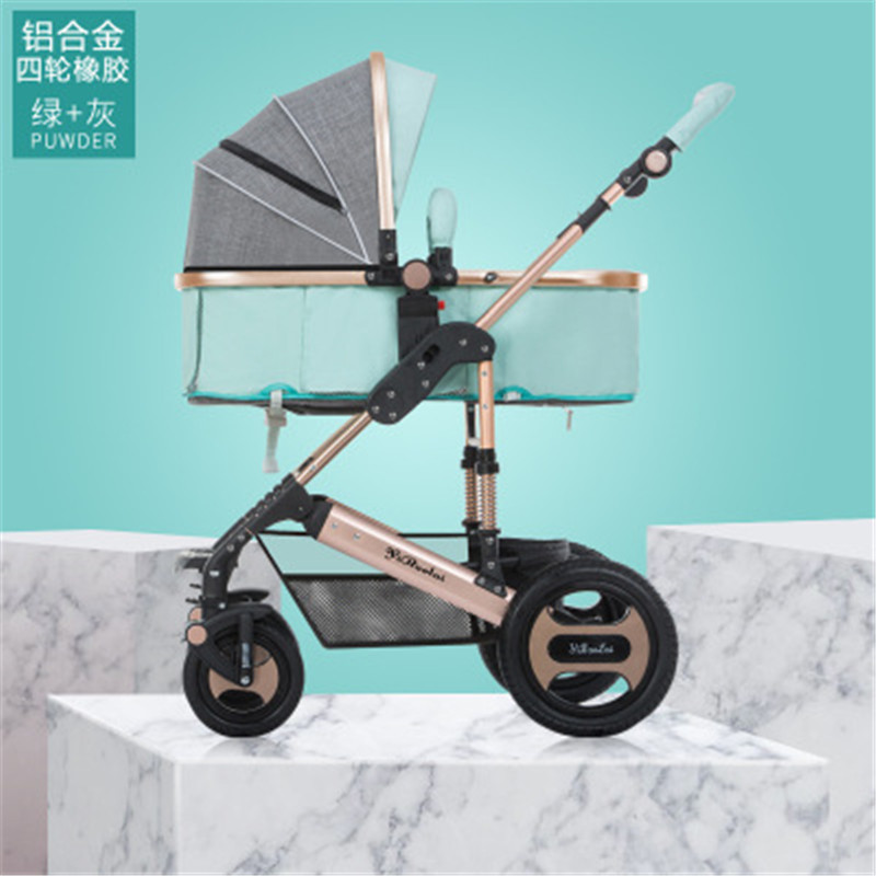 Yibaolai High landscape Luxury Baby Carriage 0-36 Months summer and Winter Infant Buggy Baby Stroller Pushchair
