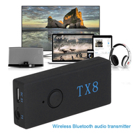 Wireless Bluetooth Audio Transmitter Bluetooth 3 0 Audio Emitter Adapter With Built In Battery For Tablet